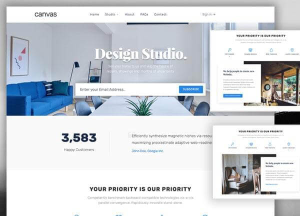 Canvas | The Multi-Purpose HTML5 Template